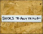 """2"""" x 12"""" - 25 pack of Write on Wipe off Dry Erase Self-Adhesive shelf labels"""
