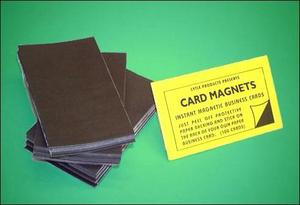 Self-Adhesive Magnetic Business Cards