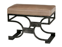 Monterey Home Angelica Leather Bench