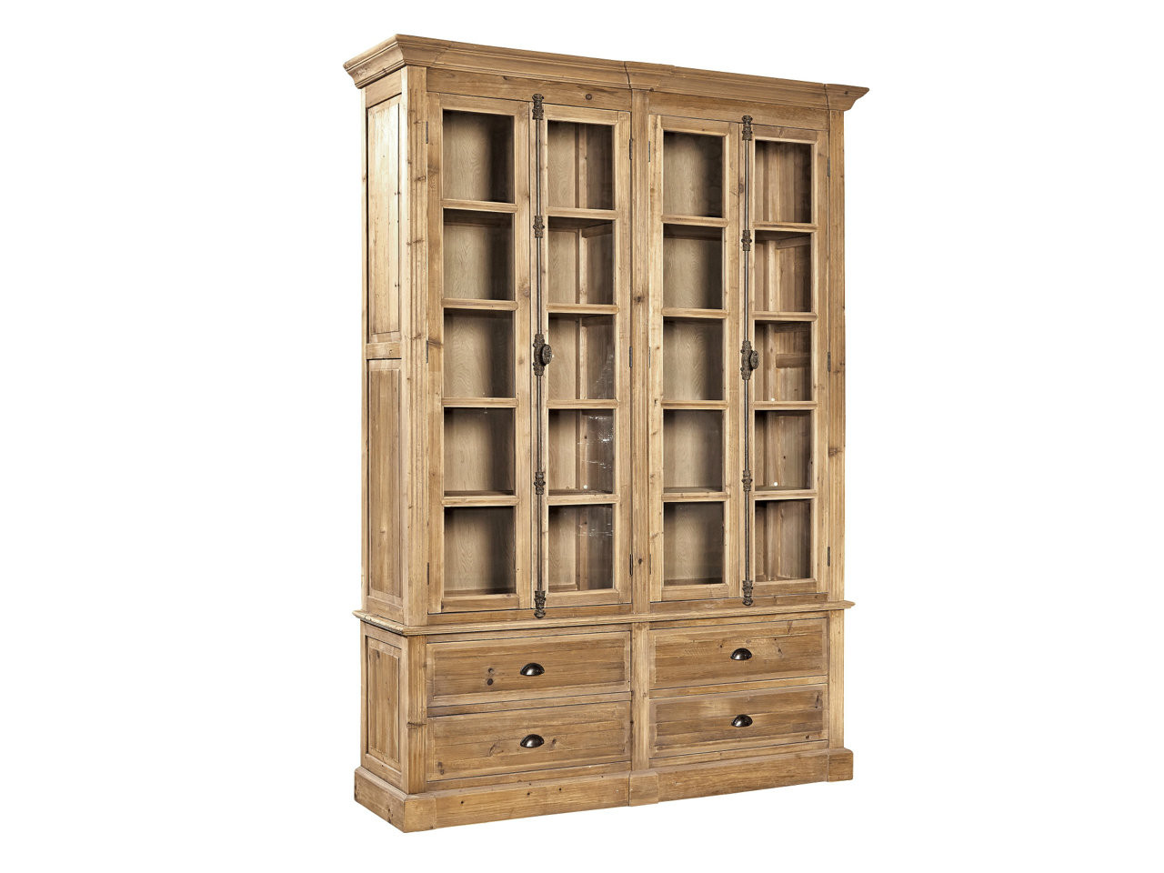 Fabulous Fairview Antique Pine Bookcase Country Willow Download Free Architecture Designs Remcamadebymaigaardcom