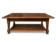 Silverlake Coffee Table with Turned Legs