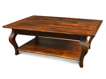 Silverlake Coffee Table with Cabriole Legs