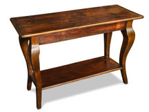 Silverlake Sofa Table with Cabriole Legs