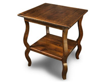Silverlake Rectangle Cricket Table with French Legs
