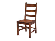Manchester Farmhouse Dining Side Chair - Wood Seat