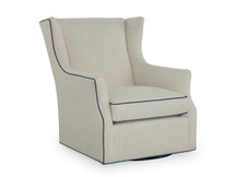 Larren Grey Harmony Swivel Glider