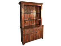 Silverlake Stepback Hutch with Drawers and Doors