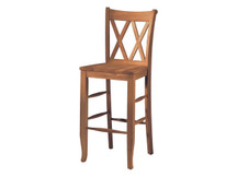 Ridgewood Double-X Bar Stool