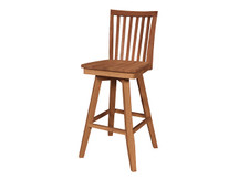 Ridgewood Mission Swivel Bar Stool