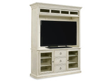Meridian Entertainment Console with Hutch