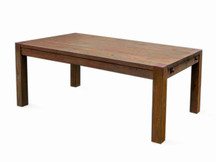 Silverlake Rustic Grey Parsons Dining Table