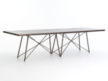 "Fulton Floating Iron 114"" Dining Table"