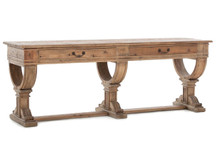 Fulton French-Farmhouse Console Table