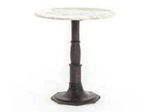 Fulton Marble-Top Side Table