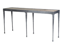 Gatehouse Hammered Leg Console Table