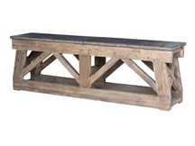 Gatehouse Stone-Top Console Table