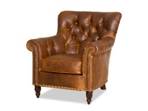 Bradington Young Kirby Leather Chair