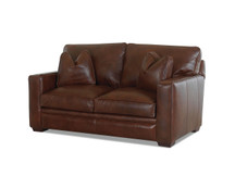 Stockton Vail Leather Loveseat
