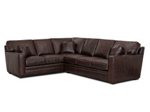 Stockton Vail Leather Sectional