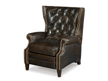Balmoral Blair Tufted Leather Recliner
