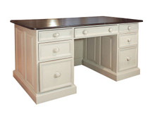 Claremont Pine Executive Desk