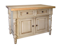 Claremont Butcher Block Island