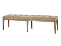 Unionworks Tufted Velvet Bench