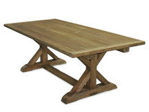 Silverlake Garden Trestle Dining Table