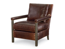 Larren Grey Ramone Leather Chair