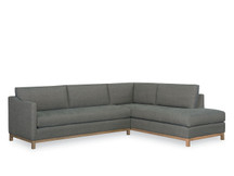 Larren Grey Draper Sectional