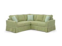 Davis Slipcovered Sectional