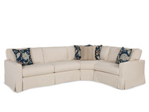 Claridge Slipcovered Sectional