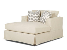Stockton Toby Slipcovered Chaise