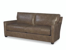 Larren Grey Brendan Leather Sofa