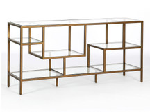 Fulton Ansel Media Console - Glass