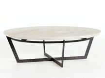 Fulton Lundin Coffee Table - Marble