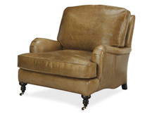 Beechwood Leather Chair