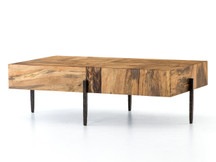 Fulton Nephi Coffee Table - Nougat