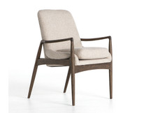 Fulton Petry Dining Arm Chair - Sand