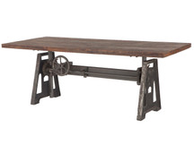 HTM Urban Adjustable Rectangular Dining Table
