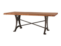 HTM Hand-Forged Rectangular Dining Table