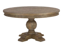 HTM Continental Round Dining Table - Hazelnut