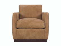 Mathis Leather Swivel Chair