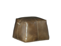 Scribe Leather Ottoman