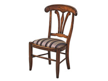Manchester Manor House Dining Side Chair - Fabric Seat (Clearance)