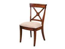 Manchester Braslow Side Chair - Fabric Seat (Clearance)