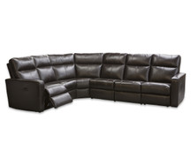 Ellen Leather Sectional