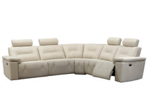 Axel Leather Sectional