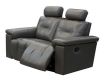 Axel Leather Loveseat
