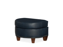 BY Abernathy Leather Ottoman